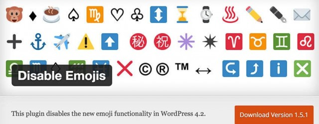 Emojis in WordPress and why you should remove them